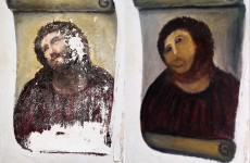 Fresco-ruining pensioner wants to be paid for ruining fresco