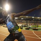 With a name like Bolt, was Usain always destined to be the fastest man in the world?