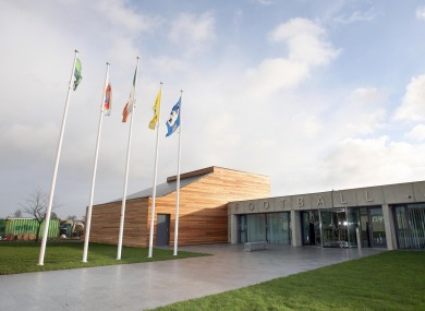 The FAI Offices in Abbotstown opened in 2007.