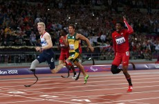 VIDEO: Peacock takes Pistorius' 100m crown