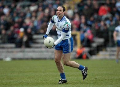 Paul Finlay reached the Monaghan county final with his club Ballybay yesterday.