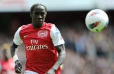 Sagna bemused by van Persie, Song departures
