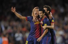 VIDEO: Adriano strike sinks Valencia to keep Barca top