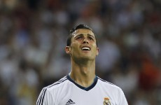 Glum Ronaldo insists it's not about the money