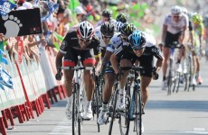 Vuelta á Espana: Bennati trumps Swift at the last