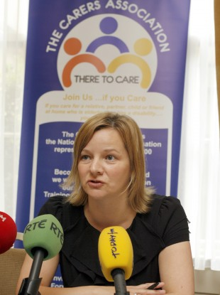 Catherine Cox of The Carers Association