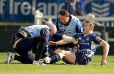 Phew! Schmidt says O'Driscoll injury 'not too serious'