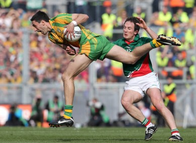 Donegal's Rory Kavanagh and Alan Dillon of Mayo will both be in action for their clubs this weekend.