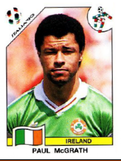 Memory lane: The Panini sticker collection of Ireland's Italia '90 squad
