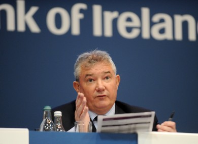Richie Boucher, Bank of Ireland Group Chief Executive