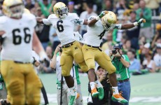 Trojan effort gives unbeaten Notre Dame a fighting title shot