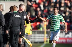 SPL: Nouioui opens Celtic account at Pittodrie