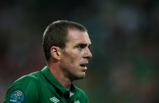 Happy days! Richard Dunne back in training for Villa