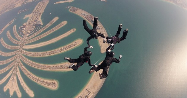 VIDEO: Irish Parachute team competes in world championships in Dubai