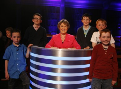 The finalists. These children are all probably cleverer than you.