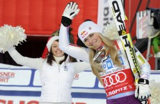 Vonn edges closer to World Cup record after Super-G win