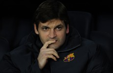 Ill-again Barcelona coach Tito Vilanova has second throat operation