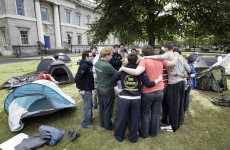 Student sleep out cancelled after Gardaí refuse permission