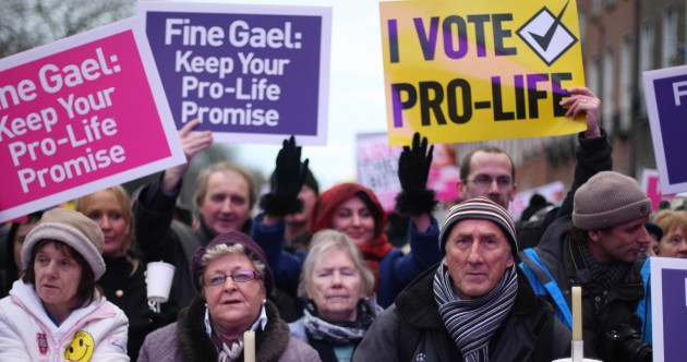 Pics: Thousands attend pro-life vigil in Dublin