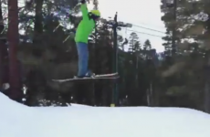 VIDEO: 11-year-old attempts ski-jump, falls in hilarious fashion