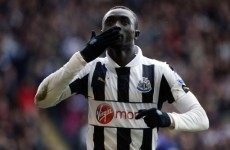 Holy Moly! Look at what Papiss Cissé just did against Southampton…