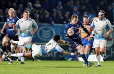 Pro12: Schmidt and Leinster relieved to survive 'bloody good' Warriors visit