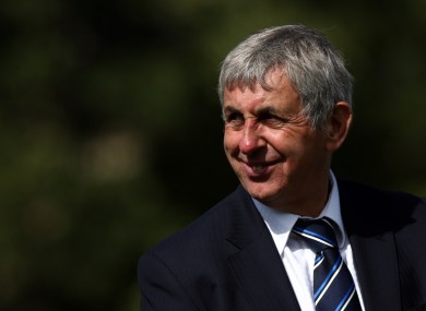 Mane Man: Bath director of rugby Ian McGeechan.