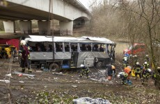 Five dead following bus crash in Belgium