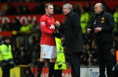 Fergie dismisses reports that Rooney's off to Paris Saint-Germain