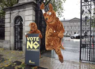 Oireachtas inquiries are limited to making observations of fact because of the rejection of a referendum in 2011, which drew some criticisms that the referendum could create 'kangaroo courts'.