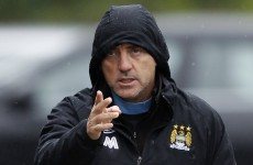 Manchester City players celebrated Roberto Mancini's sacking – reports