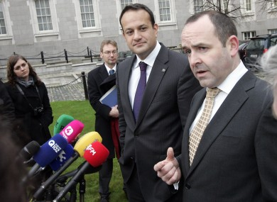 RSA chief Noel Brett, pictured alongside Transport Minister Leo Varadkar