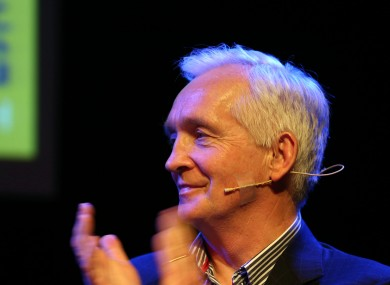 David Walsh at a Q&A session earlier this year.