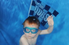 Son of legendary stopper John O'Leary with Nirvana Nevermind salute to Dubs