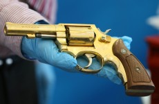 Dissident arms seizure includes golden gun