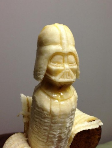 This banana art will blow your mind