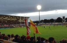 Friday night at Ravenhill: Nothing has changed but the venue