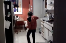 Dishwasher loading, now with added Michael Jackson dance