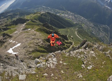 file photo of wingsuit jumper