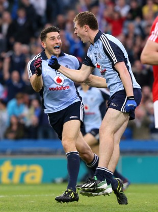 Bernard Brogan and Jack McCaffrey.