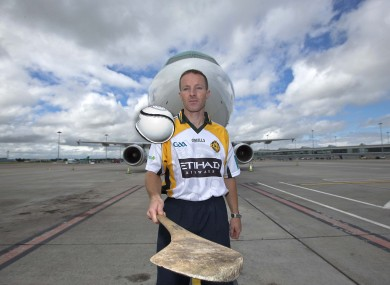 Jamesie O'Connor pictured at Dublin Airport last week.