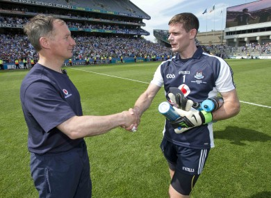 Cluxton: Gavin says hamstring rumours are unfounded.