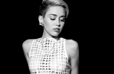 """Miley Cyrus displays her breasts in mesh""… It's the Dredge"