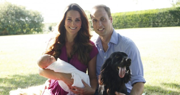 Kate and William release first official pictures of Prince George