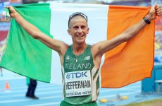 Ireland's Rob Heffernan claims gold at World Track and Field Championships