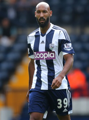 Anelka only arrived at West Brom earlier this summer.