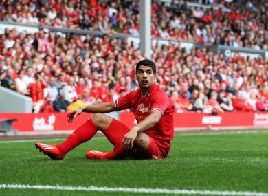 Suarez received a positive reception from Liverpool fans during a friendly at Anfield last weekend.