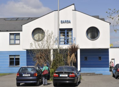 Tallaght Garda Station, where the man is being held.