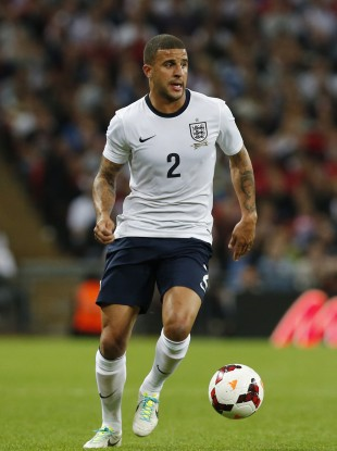 Kyle Walker, in action against Moldova last week.