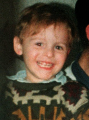 File photo of murdered toddler Jamie Bulger.